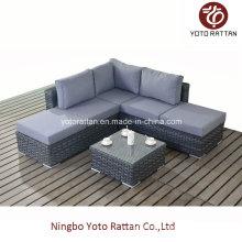 Grey Corner Sofa for Outdoor (1501)