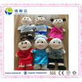 Harmonioso Pelúcia Familiares Puppet Family Dolls