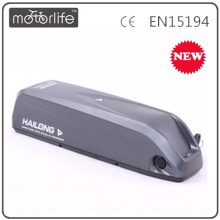 MOTORLIFE lastest 36v 10ah down tube battery
