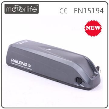 MOTORLIFE lastest 36v 10ah down tube battery