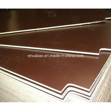 Linyi Plywood/Film Faced Plywood Brown Film Poplar Core WBP Glue