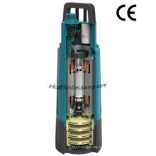 Inicio automático y parada de alta presión grande del flujo multifase de impulsor de jardín sumergible de la bomba con el interruptor de presión interna
