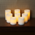 Pilar klasik flameless LED lilin set