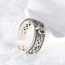 Мода дизайн Серебряный человек ювелирные изделия тайского серебра головоломки кольцо