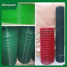 Дешевые с покрытием порошковым покрытием сварные сетчатые рулоны (Китай производитель)