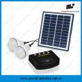 Экономия Энергии 2 Лампы Домашнего Освещения Солнечные Комплекты Панели