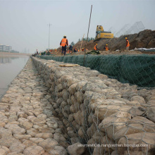 Gabion Basket with Hexagonal Wire Netting