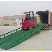 Rampa móvel da jarda da carga para a venda / rampa ajustável da doca de carga para venda