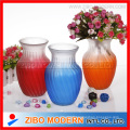 Different Types Colored Glass Vase