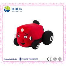 Brinquedo macio do brinquedo do carro de bebê