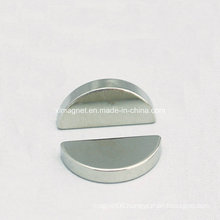 Semi-Circle Disc Nickel Magnet for Toys