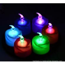 Custom Various Colorful LED Electronic Decorative Flameless Candle