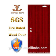 High Quality BS 476 30/60/90 minutes fire rate timber door