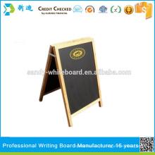 Quadro de quadro de madeira do Pin com suporte