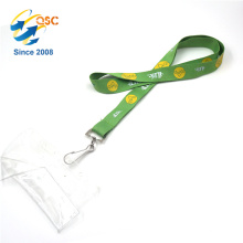 Custom Fashion Style Good Quality Colorful Reflective Polyester Lanyard