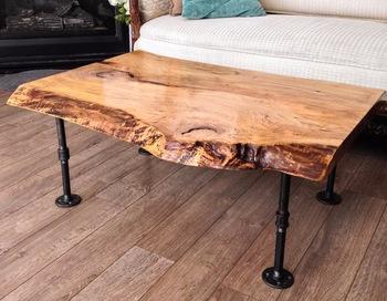 Wonderful ... Black Steel Threaded Pipe Table Legs For Metal Pipe Furniture ...