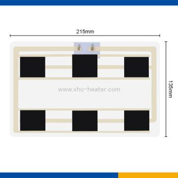 Film de chauffage à fibre de carbone de 7.4v pour la veste