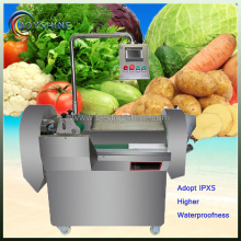 Fruit and vegetable slicing dicing cutting machine