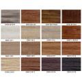 Plancher de planches de vinyle résilient de luxe de diverses couleurs pour la décoration de maison