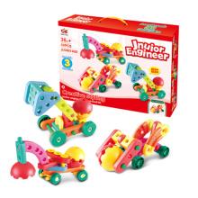 ABS Plastik DIY Baustein-Auto-Spielzeug (H9227038)