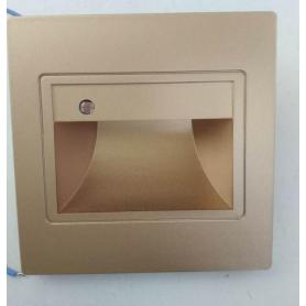 Microwave Motion Sensor LED Recessed Stairs Step Light