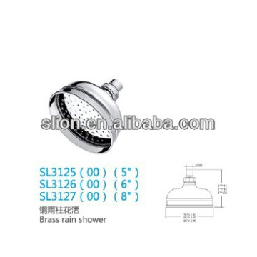 brass shower bracket & brass shower mixer set