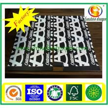 450g schwarzes Papier / schwarzes Papierbrett / schwarze Karte