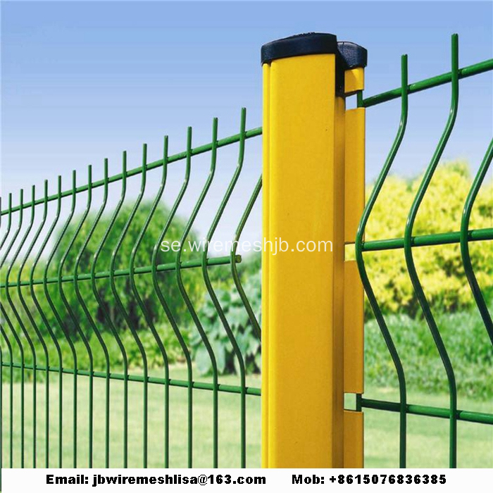 Peach Post Svetsat Wire Mesh Fence