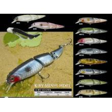 Fabriqué en Chine 3 leurres de pêche durs en plastique
