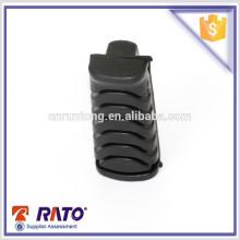 Produto de borracha de apoio para pés preto universal de moto de qualidade confiável
