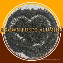 chorro de arena óxido de aluminio / alúmina fundida marrón