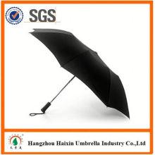 Precios baratos!! Fábrica oferta nuevo diseño paraguas con asa torcida
