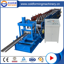 High Speed ​​Fast Adjustable CZ Channel Purlin Forming Machine