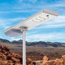 Luz de calle solar todo en uno de 80W