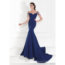 Custom Made Satin Mermaid Evening Dress