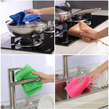 solid dyed microfiber towel for cleaning
