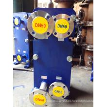 Intercambiador de calor de placas M10 de acero inoxidable AISI 316L para leche