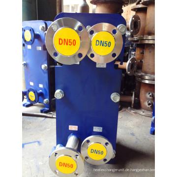 M10 Plattenwärmetauscher aus Edelstahl AISI 316L für Milch