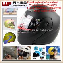 plastic Injection Motorcycle Helmet Visor Mould Taizhou plastic injection motorcycle safety crash helmet mould with hot runner