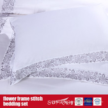 Flower Frame Stitch Bedding Set Classical Design