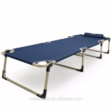Outdoor Furniture General Use folding camp bed and Iron Metal Type Yes Folding beach bed