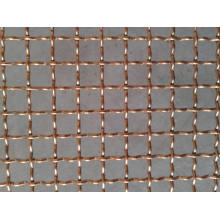 Tissu de treillis métallique serti de bronze phosphoreux