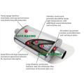 4''x9''x18''x24 '' Autolack Schalldämpfer Auspuff Pfeife Spiegel oder Unpolished Avaialble