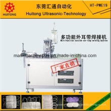 Ultrasonic Multifunction Outside Mask Earloop Welding Machine