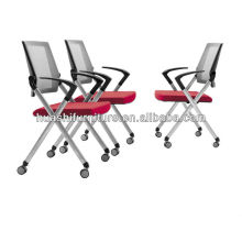 New design office meeting chair with nylon mesh/stackable chair