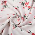 Robe à fleurs en tissu rayonne imprimé jacquard