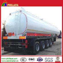 Fuel Tanker Truck Trailer for Oil Transport