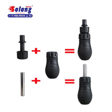 Solong Tattoo New Silicone Rubber Tattoo Machine Grip for Rotary Coil Tattoo Machine G203