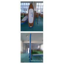 2016 tablas inflables modificadas para requisitos particulares de la paleta de las tablas de surf de la boogie