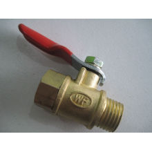 "Female And Male 1/4"" Full Port Ball Valve"